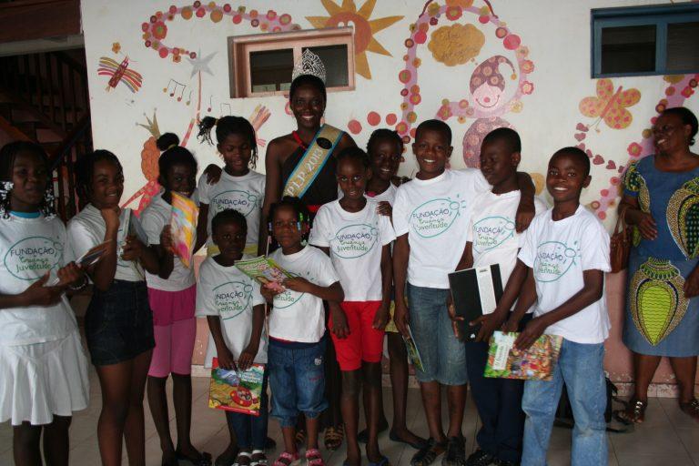 A Fundação da Criança recebe a MISS CPLP
