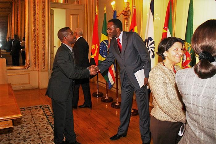 A visita de cortesia à Sede da CPLP em Lisboa